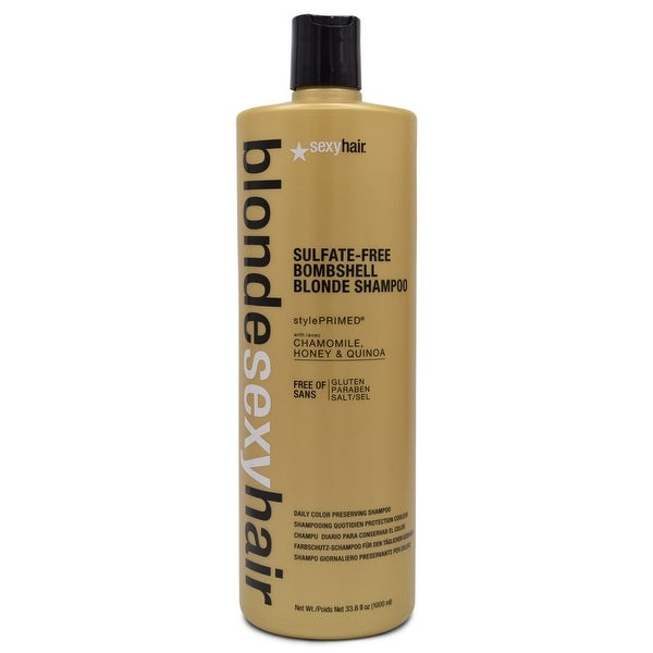 Sexy Hair Bombshell Blonde Shampoo 33.8 Oz