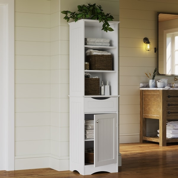 RiverRidge Ashland Collection Tall Cabinet. Opens flyout.