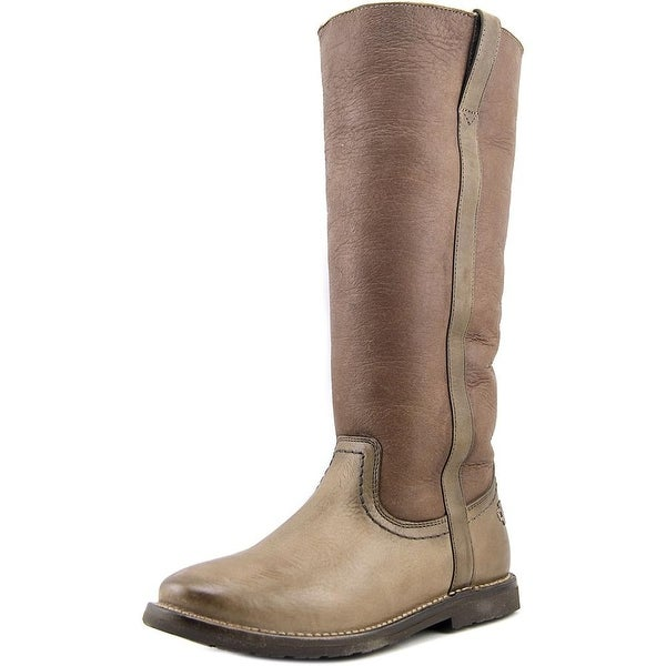 b3e090afb82dd Shop Frye Celia Tall Round Toe Leather Knee High Boot - Free ...