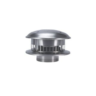 """Selkirk 105800 Round Gas Vent Top, 5"""""""