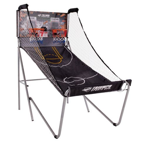 "Triumph Sports ""Big Shot"" 8-in-1 Two-Player Arcade Basketball Game / 45-6099BLU"
