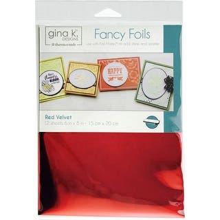 "Gina K Designs Deco Foil 6""X8"" 12/Pkg-Red Velvet https://ak1.ostkcdn.com/images/products/is/images/direct/5c319611accbc35b47ff3863fd65de9dce7726db/Gina-K-Designs-Deco-Foil-6%22X8%22-12-Pkg-Red-Velvet.jpg?impolicy=medium"