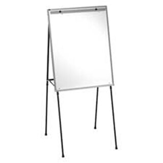 Dry-erase Easel- w-29in.x40in. Board- Adjust 40in.-70in.- Aluminum