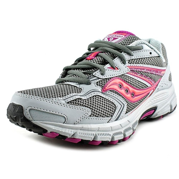 Saucony Grid Cohesion TR9   Round Toe Synthetic  Running Shoe