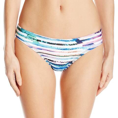 Next Blue Pink Womens Size Small S Abstract Print Bikini Bottom