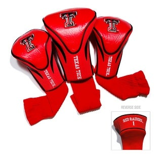 Texas Tech University Contour Sock Headcovers (3 pack)