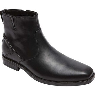Rockport Men's Traviss Zip Boot Black 2 Leather
