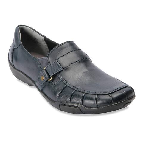 Ros Hommerson Womens Cynthia Leather Closed Toe Loafers