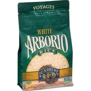 Lundberg Family Farms - White Arborio Rice ( 6 - 16 oz bags)