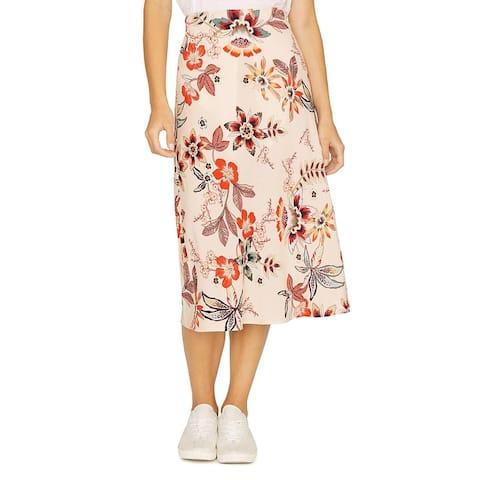 Sanctuary Womens Everyday Midi Skirt Floral Daytime - Desert Floral