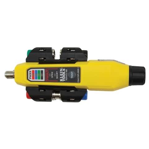 Klein tools coax explorer 2 tester w/ remote kit