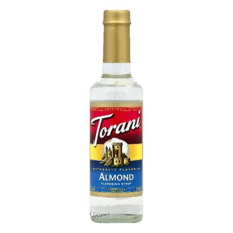 Torani Almond Flavoring Syrup, 12.7 OZ (Pack of 4)