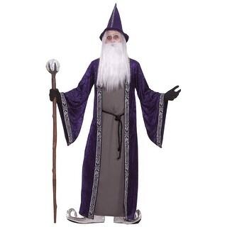 Adult Purple Wizard Costume - Wizard Halloween Costumes