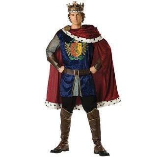 InCharacter Noble King Adult Costume - Blue/Red