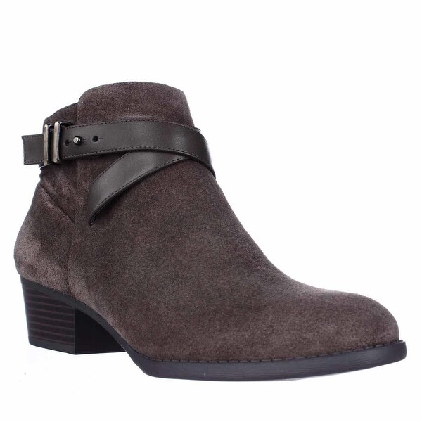 I35 Herbii Short Ankle Boots, Mushroom