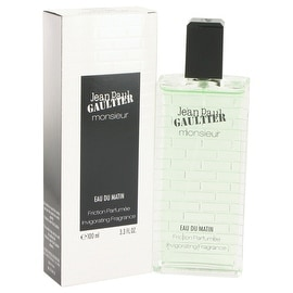 Jean Paul Gaultier Monsieur Eau Du Matin by Jean Paul Gaultier Friction Parfumee Invigorating Fragrance 3.3 oz - Men