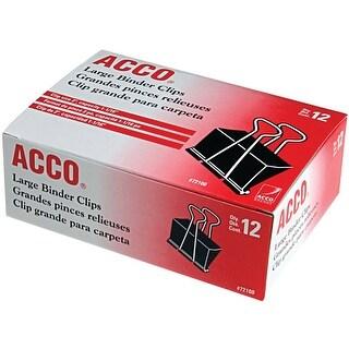 "Acco Binder Clips 12/Pkg-2"""