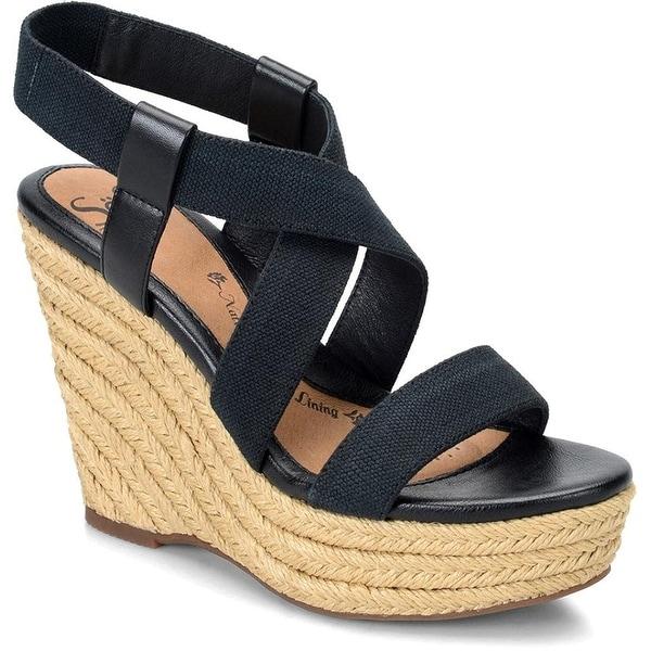 Sofft Womens Perla Open Toe Casual Platform Sandals