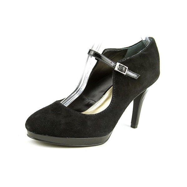 Alfani Syssy Round Toe Suede Mary Janes