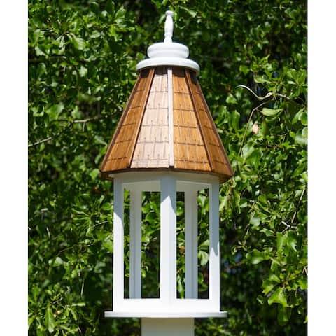 Acadia Tung Wood Bird Feeder