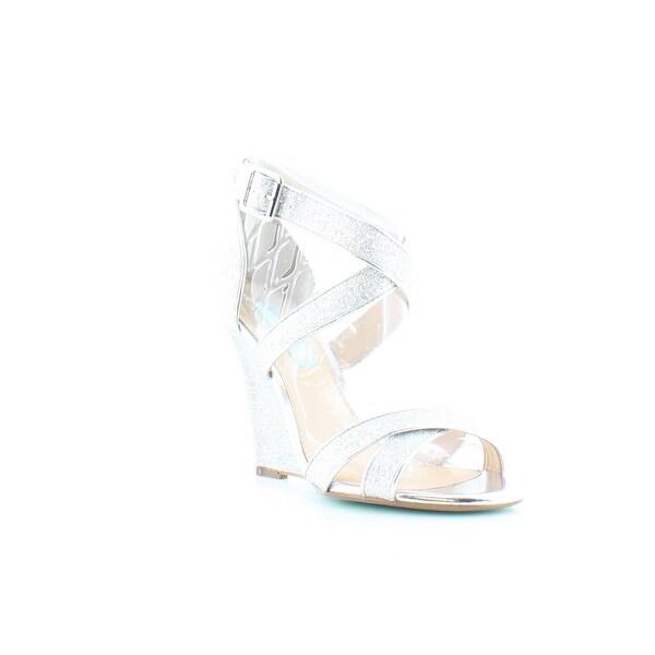 Betsey Johnson Cherl Women's Heels Silver - 7
