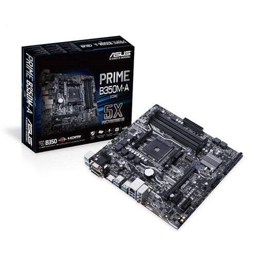 """Asus Prime B350M-A/CSM Desktop Motherboard Desktop Motherboard"""