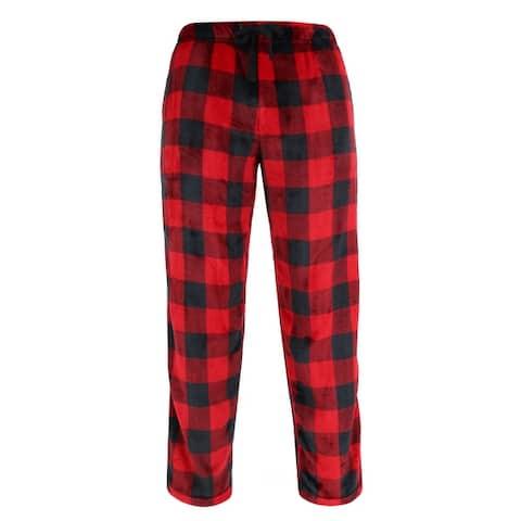 Wanted Men's Buffalo Plaid Lounge Pajama Pants