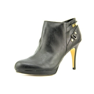 Marc Fisher Blaine 3 Round Toe Synthetic Ankle Boot