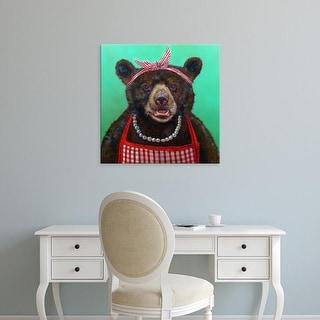 Easy Art Prints Lucia Heffernan's 'Mama Bear' Premium Canvas Art