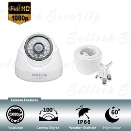 Samsung SDC-9442DC Weather Resistant 1080p High Definition Dome Camera