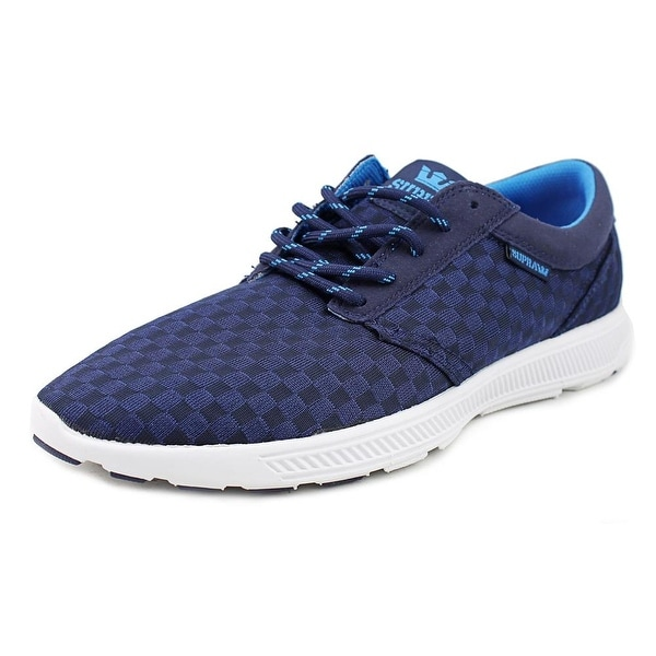 Supra Hammer Run Men Round Toe Canvas Blue Running Shoe