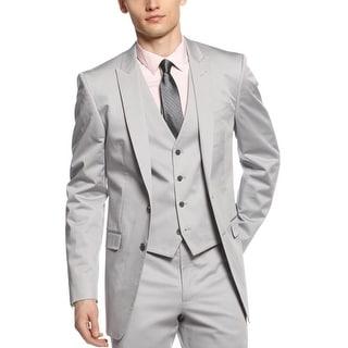 Calvin Klein CK Blazer 42 Short 42S Grey Extreme Slim Fit Suit Separates