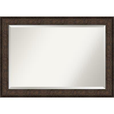 Ridge Bronze Bathroom Vanity Wall Mirror