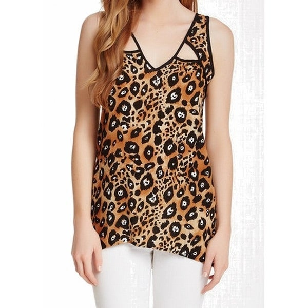 Shop Bobeau Animal-Print Cuotut Womens Small Tank Tunic Top - Free Shipping  On Orders Over  45 - Overstock.com - 26908298 21d0709a6