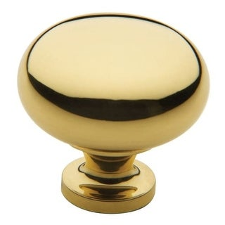 Baldwin 4708 Classic 1-1/2 Inch Diameter Mushroom Cabinet Knob from the Estate Collection
