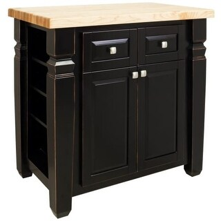 Jeffrey Alexander ISL12 Bungalow Collection 34 x 22 Inch Kitchen Storage Island (2 options available)