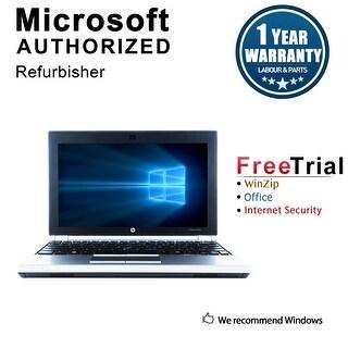 "Refurbished HP EliteBook 2170P 11.6"" Intel Core i5-3427U 1.80GHz 4GB DDR3 250GB Windows 10 Pro 64 Bits 1 Year Warranty"