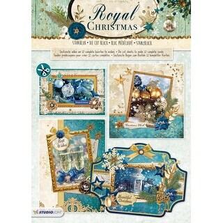 Studio Light Royal Christmas Die-Cut Card Toppers 12/Pkg-