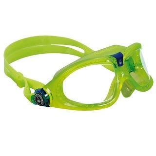Aqua Sphere Seal Kid 2 Clear Lens Swim Goggles - Lime/Blue