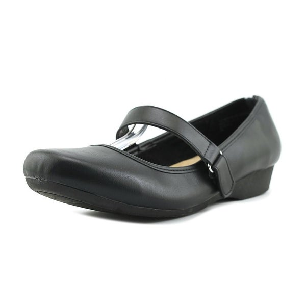 Studio Works Maria Women Round Toe Synthetic Black Mary Janes