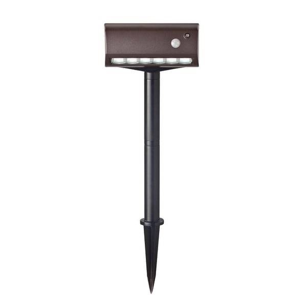 Fulcrum 20033-107 6 LED Battery Operated Garden & Path Light with Stake, Bronze