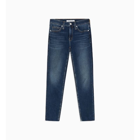 """Calvin Klein Women's Mid Rise Skinny Ankle Jeans Blue RWH Size 29"""" X 28"""" - 29"""" x 28"""""""