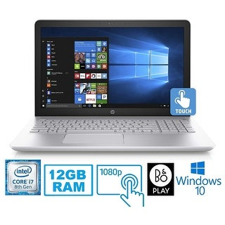 "HP Pavilion 15-CC Intel Core i7-8850U 12GB 1TB HDD 15.6"" FHD Touch Screen Laptop (Refurbished)"