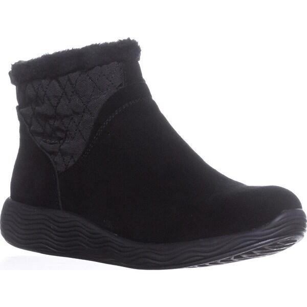BareTraps Leni Wedge Snow Boots, Black - 10 us