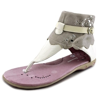 Beeko Galadriel Youth Open Toe Leather Thong Sandal