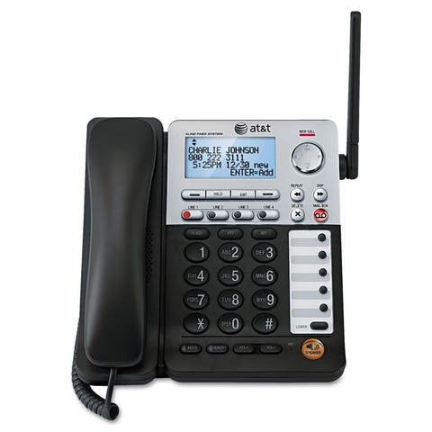SynJ 4 Line Cordless Desktop Phone