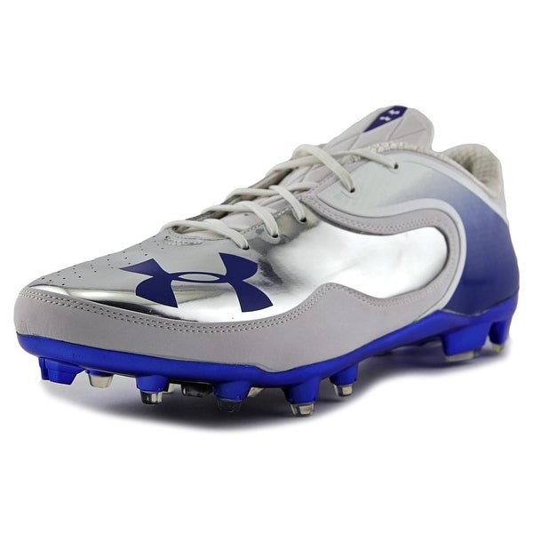 Under Armour Team Cam Low MC Pro Men Wht/Ryl/Msv/BluLogo Cleats