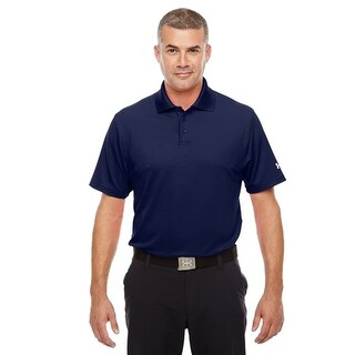 Under Armor Men's UA Performance Polo, Midnight Navy, Large