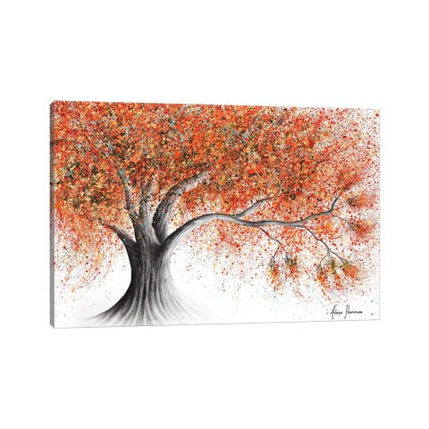 "iCanvas ""Rusty Sunshine Tree"" by Ashvin Harrison Canvas Print"