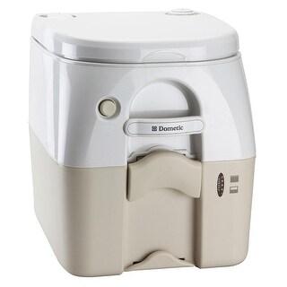 Dometic 975Msd Portable Toilet 5.0 Gal Tan W/ Brackets Msd - 301197502